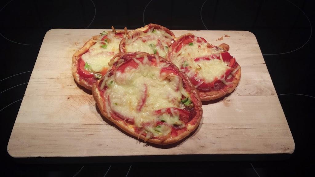 Oopsie Pizza Rezept