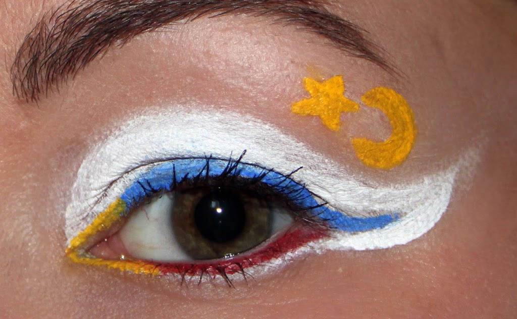 Sailor Moon Blogparade – Augen Make Up