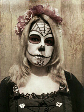 Beauty Blogparade Halloween Dia de los Muertos