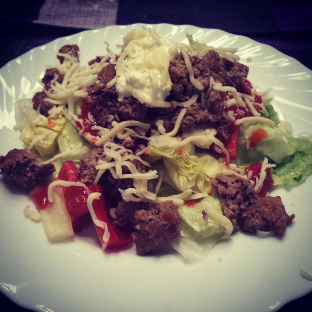 5 Wochen Fit Challenge - Mexikanischer Taco-Salat