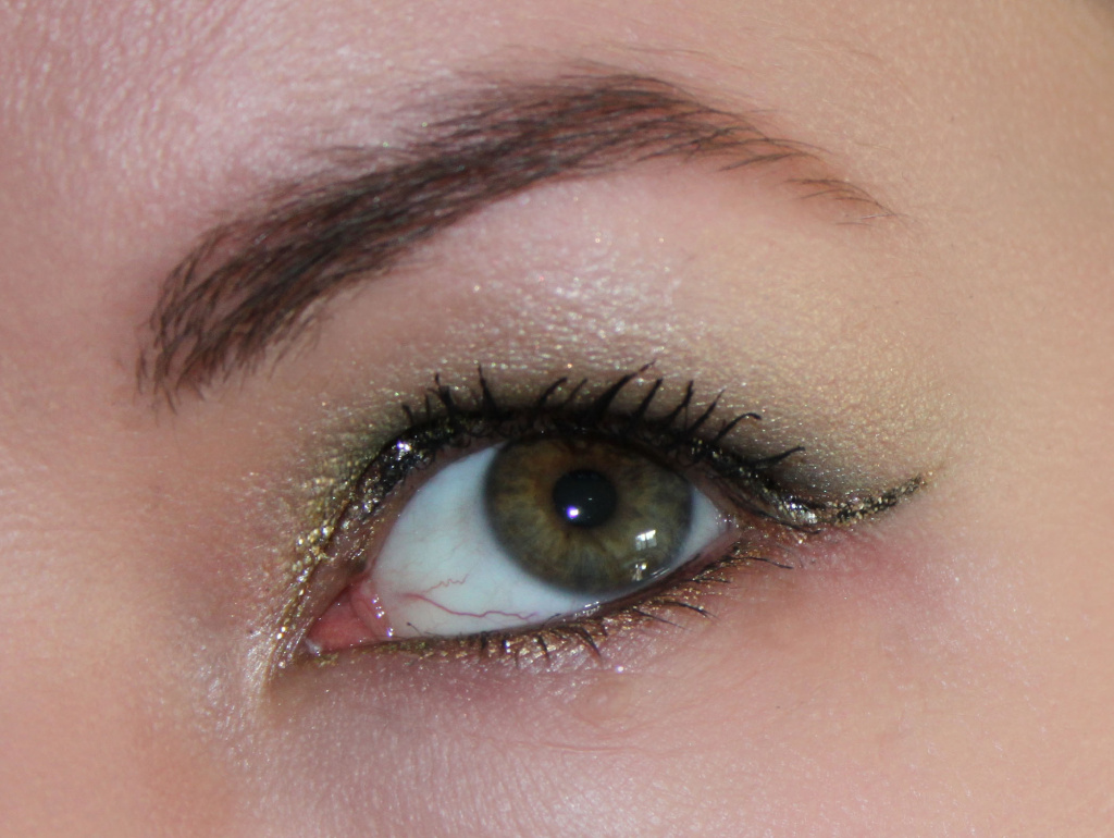 Beauty Blogparade Silvester - Augen Make Up Front