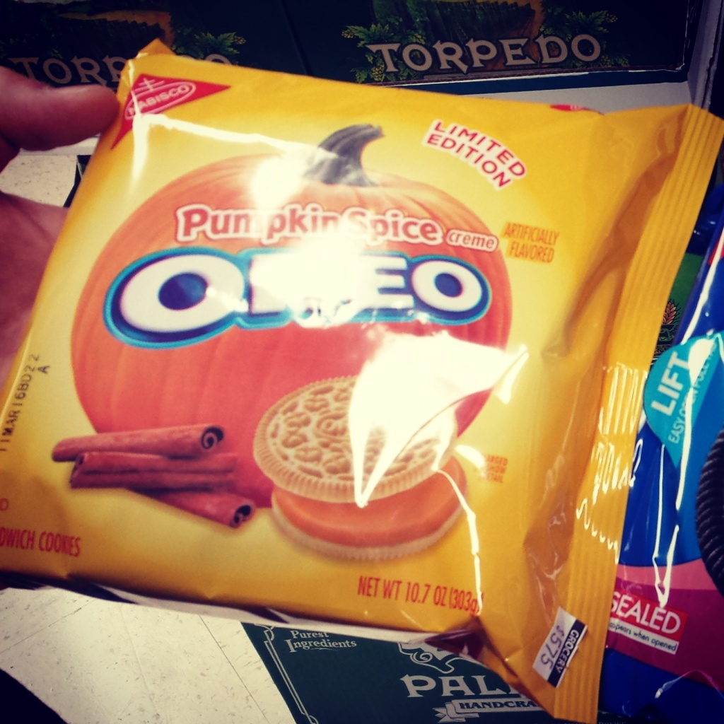 Review Oktober/ November - Best Cookies ever - Pumpkin Spice Oreo