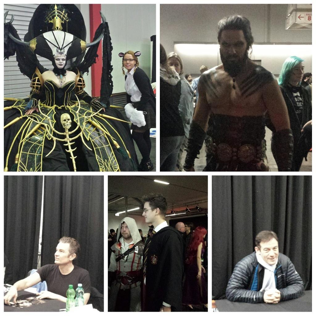 Review Oktober/ November - ComicCon Germany Carl Drogo - James Masters - Harry Potter - Jason Isaacs