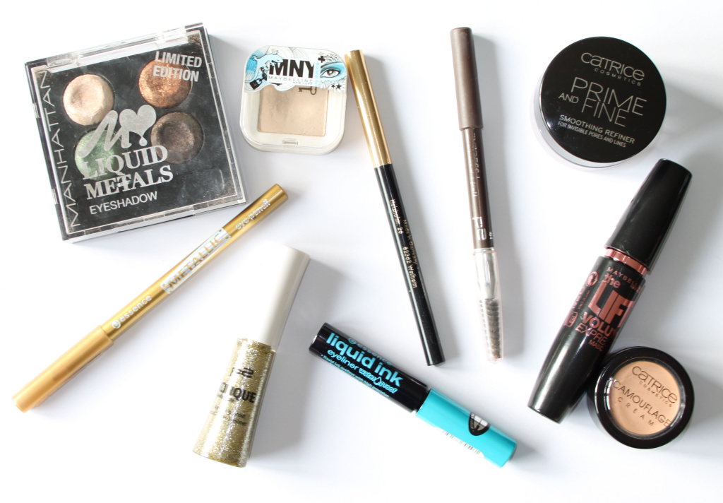 Beauty Blogparade Silvester - Material