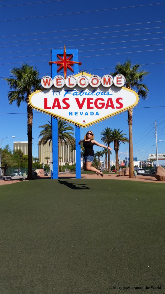 USA Rundreise - Las Vegas und Yosemite Nationalpark - Las Vegas Sign
