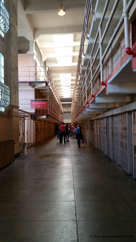 USA Rundreise - San Francisco - Alcatraz Zellengang