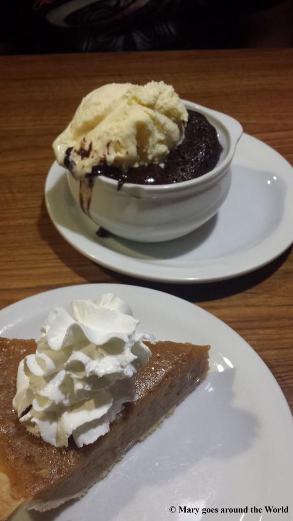 USA Rundreise - Route 1 - Wendy's Dessert
