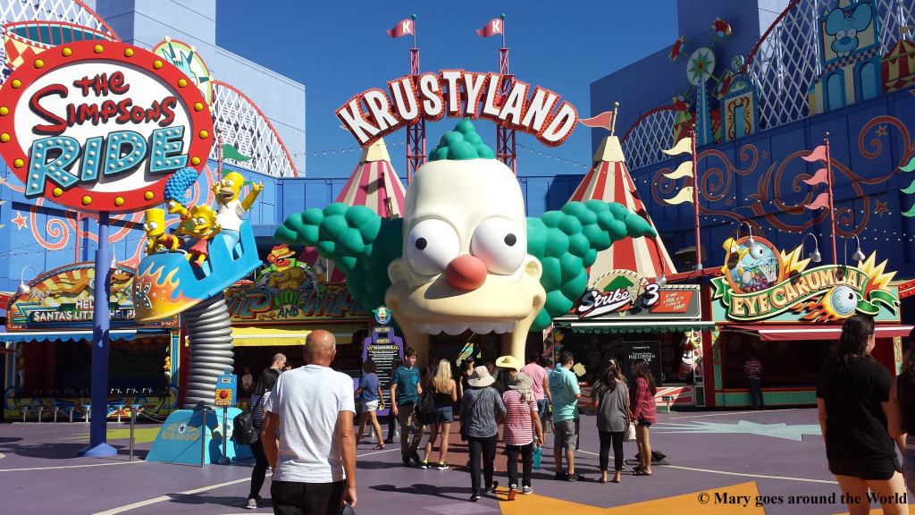 USA Rundreise - Los Angeles - Krustyland