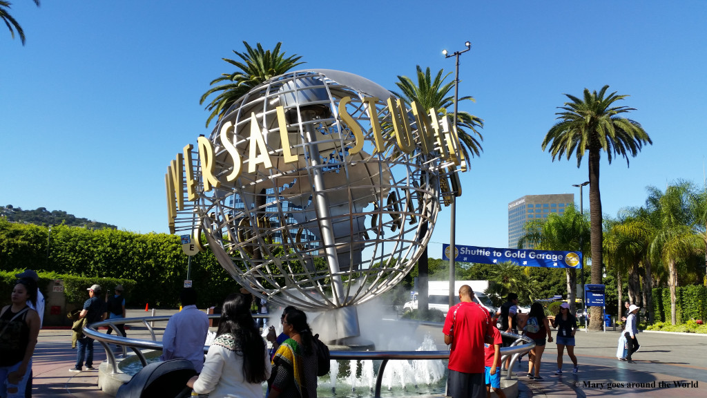 USA Rundreise - Los Angeles - Universal Studios Entrance