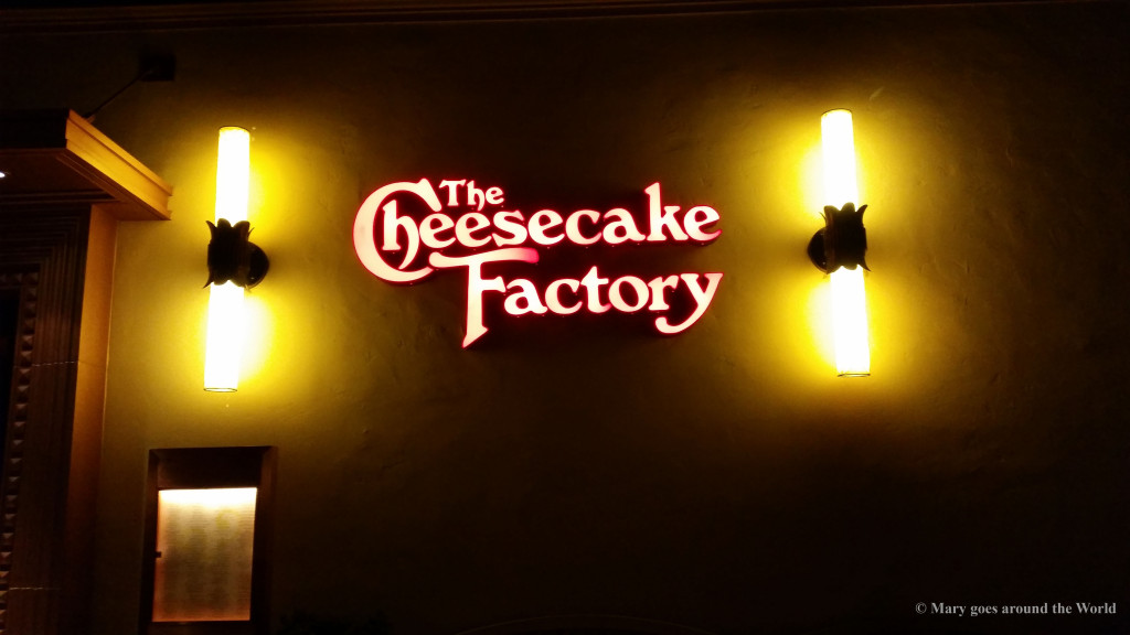 USA Rundreise - San Diego - Grand Canyon - Cheesecake Factory