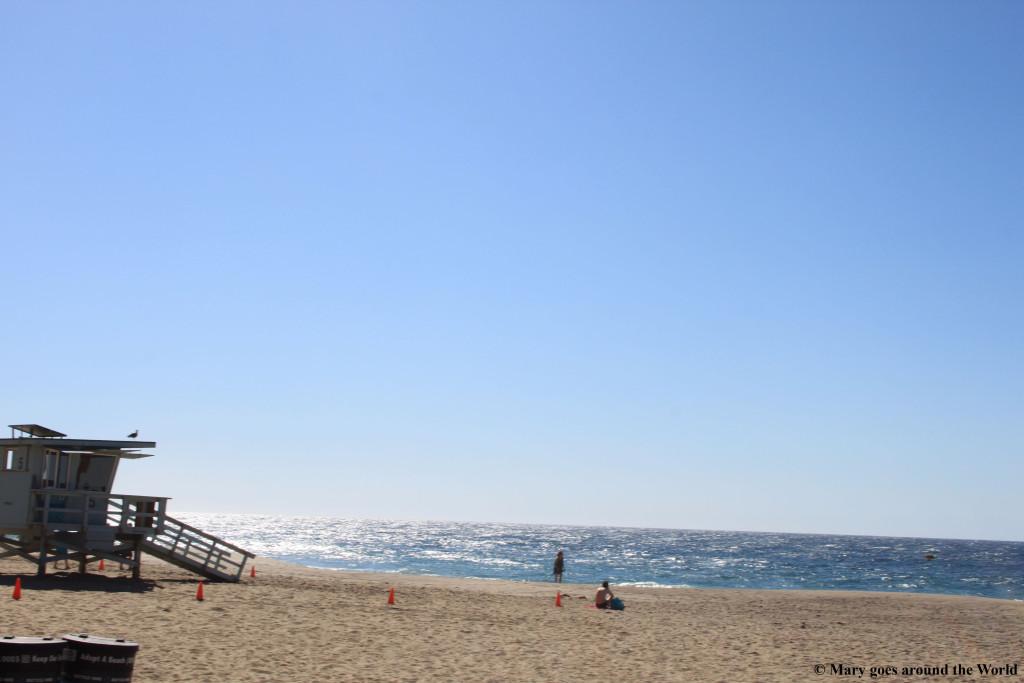USA Rundreise - Los Angeles - Malibu Beach