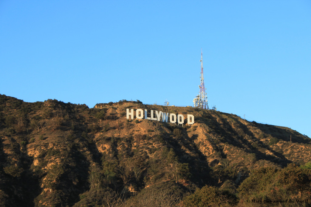 USA Rundreise - Los Angeles - Hollywood Sign