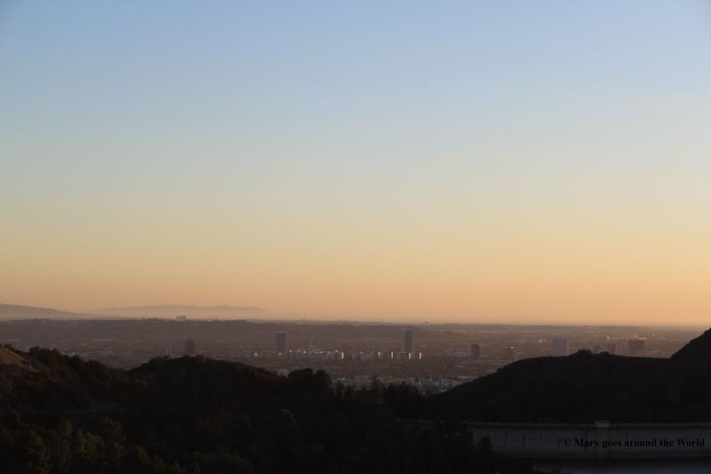 USA Rundreise - Los Angeles Skyline