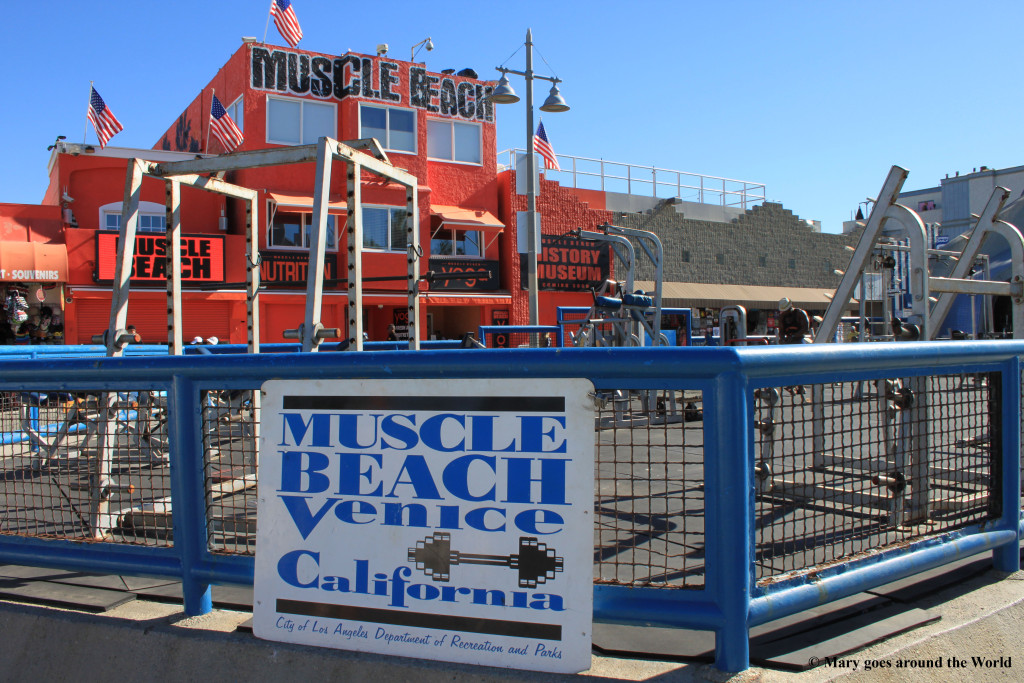 USA Rundreise - Los Angeles - Muscle Beach
