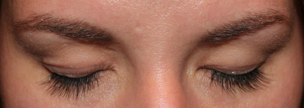 Wimpernverlängerung - Erfahrungsbericht - Wimpern nach Verlängerung