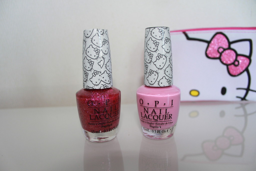 Review: Hello Kitty OPI Collection Inhalt