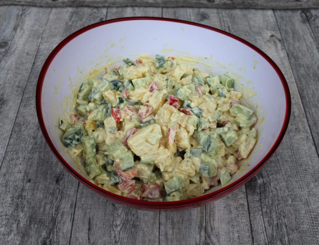 Gesund und Lecker für jeden Tag - Düsseldorfer Kartoffelsalat front