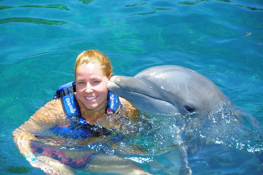 Rundreise Yucatan - Schwimmen mit Delfinen Delphinus