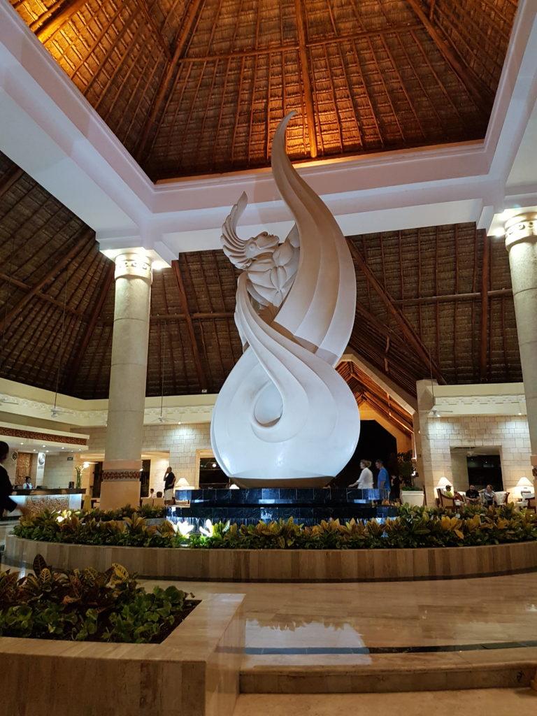 Rundreise Yucatan - Luxury Bahia Principe Akumal Lobby