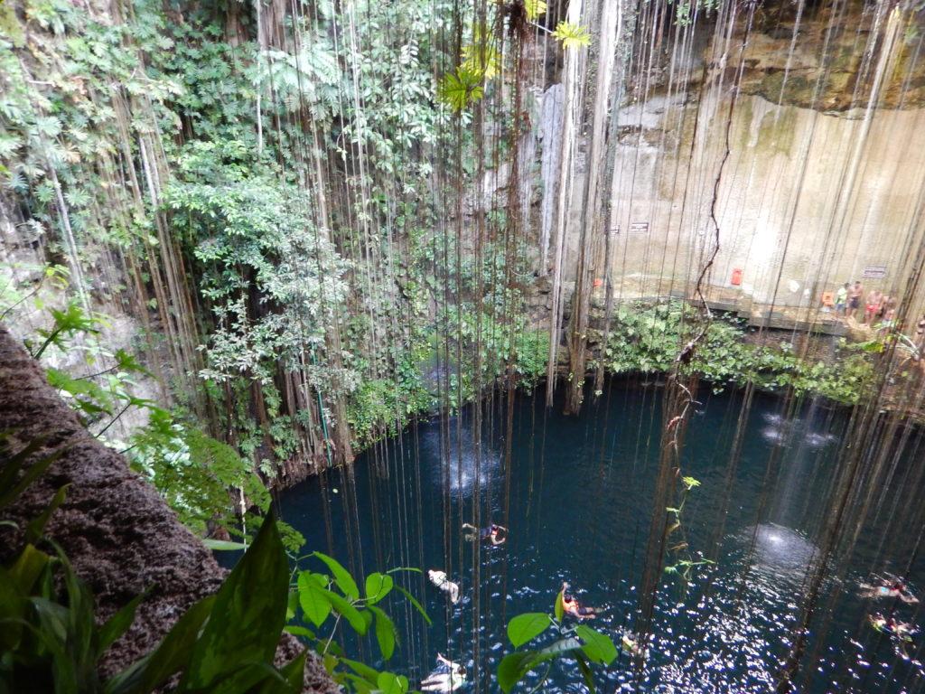 Rundreise Yucatan - Cenote Ik Kil