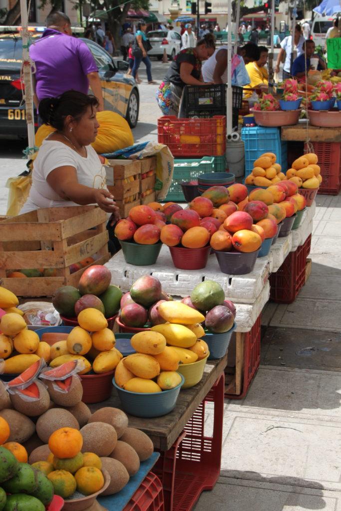 Rundreise Yucatan - Merida Markt