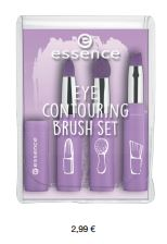 essence Neuheiten Herbst/ Winter 2016 - contouring brush set