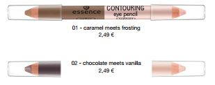 essence Neuheiten Herbst/ Winter 2016 - contouring eye pencil