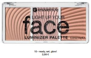 essence Neuheiten Herbst/ Winter 2016 - light up face luminizer palette