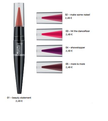 essence Neuheiten Herbst/ Winter 2016 - 2in 1 matt lipstick & liner