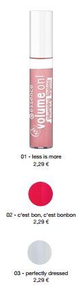 essence Neuheiten Herbst/ Winter 2016 - volume on! plumping lipgloss