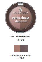 essence Neuheiten Herbst/ Winter 2016 - make me brow duo eyebrow powder