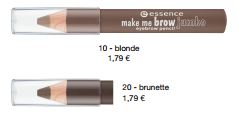 essence Neuheiten Herbst/ Winter 2016 - make me brow jumbo eyebrow pencil