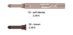 essence Neuheiten Herbst/ Winter 2016 - make me brow powder pen