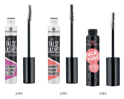 essence Neuheiten Herbst/ Winter 2016 - mascaras