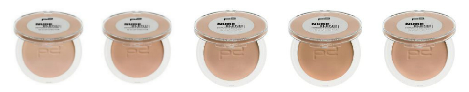 p2 Neuheiten Herbst/Winter 2016 - nude blend compact powder all