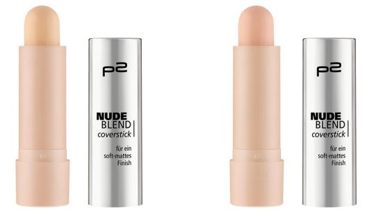 p2 Neuheiten Herbst/Winter 2016 - nude blend coverstick