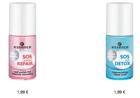 essence Neuheiten Herbst/ Winter 2016 - sos power repair, sos nail detox