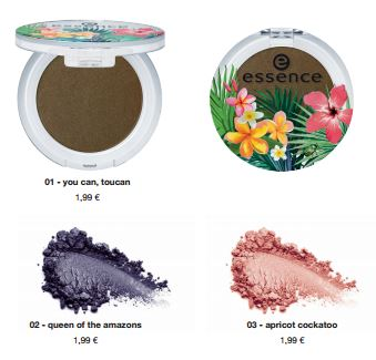 "essence trend edition ""exit to explore"" – eyeshadow"