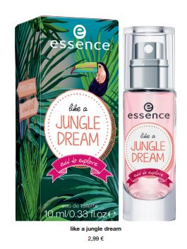 """essence trend edition """"exit to explore"""" – like a jungle dream eau de toilette"""