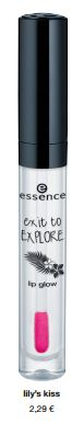 "essence trend edition ""exit to explore"" – lip glow"