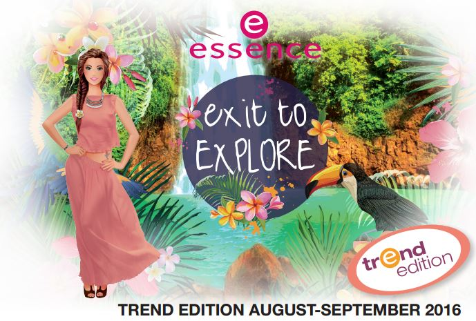 "essence trend edition ""exit to explore"" - Banner"