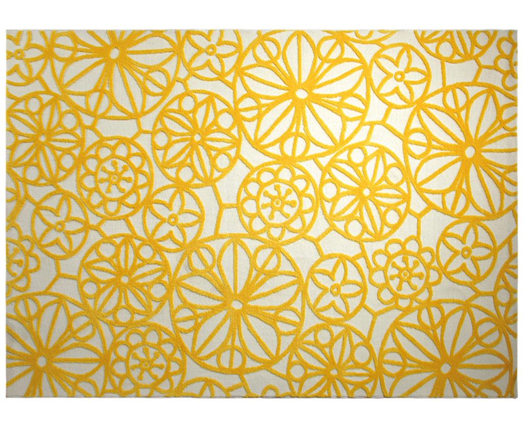 Karibikflair im Wohnzimmer - Teppich 02