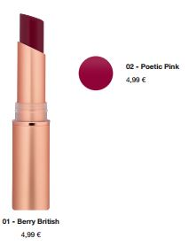 "Catrice Limited Edition ""Victorian Poetry"" – Satin Matt Lip Colour"