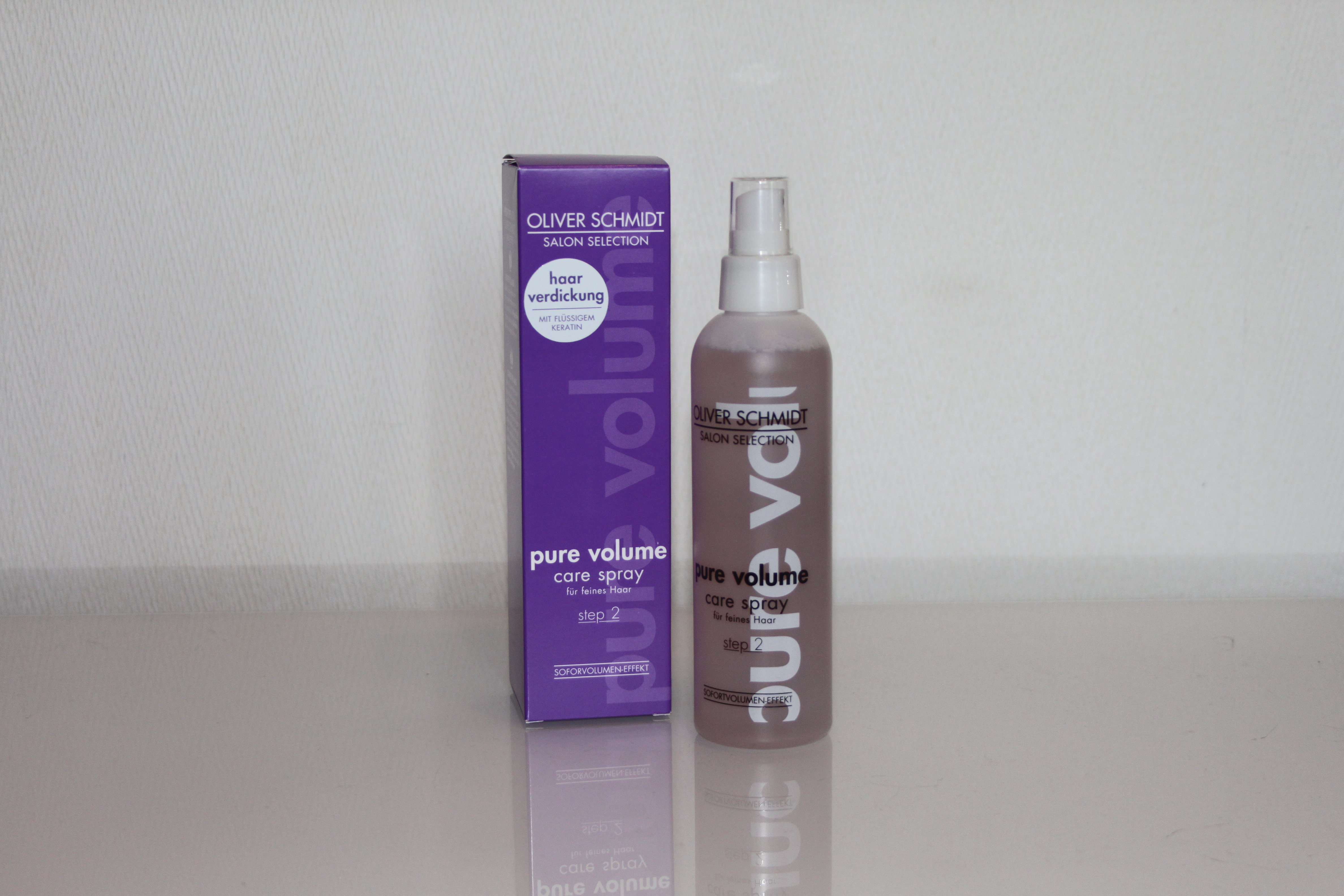 Oliver Schmidt Salon Selection pure volume - Care Spray