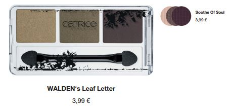 "Catrice Limited Edition ""Neo-Natured"" – Eye Shadow"