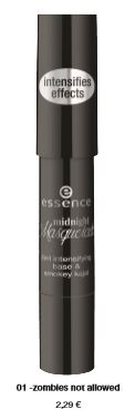 "essence trend edition ""midnight masquerade"" – 2in1 intensifying base/ smokey kajal"
