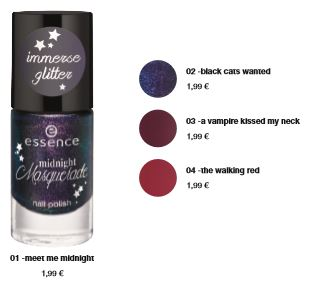 "essence trend edition ""midnight masquerade"" – nail polish"