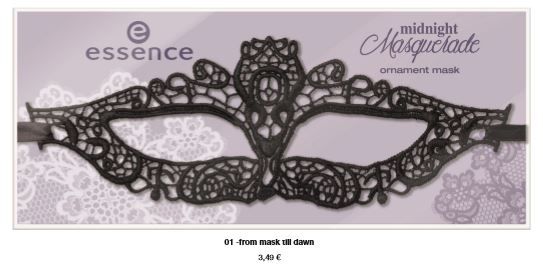 "essence trend edition ""midnight masquerade"" – ornament mask"
