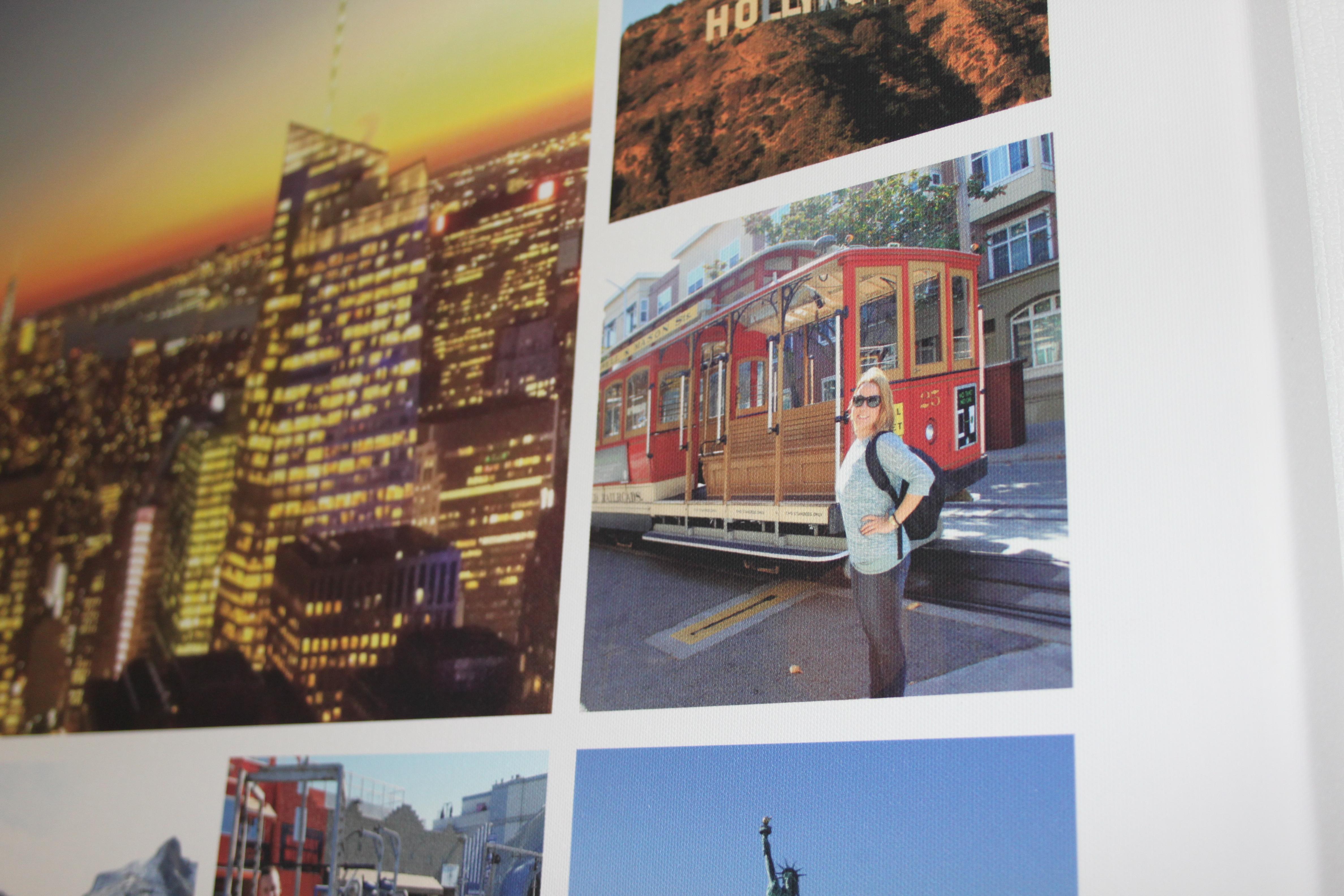 Foto-Leinwand Deluxe von smartphoto - Leinwand Details