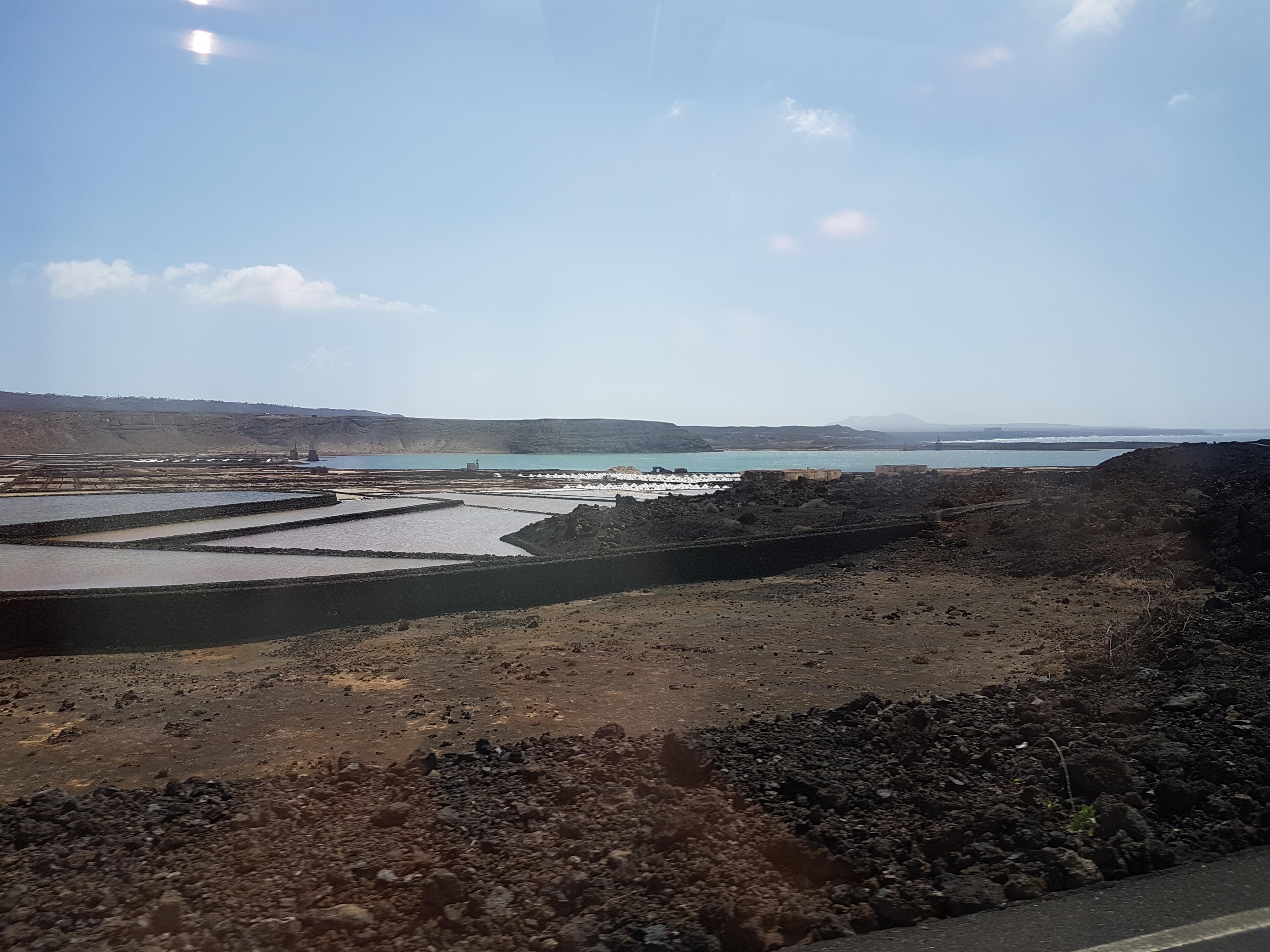 Aida Kreuzfahrt Kanaren und Madeira - Lanzarote - Salinas de Janubio
